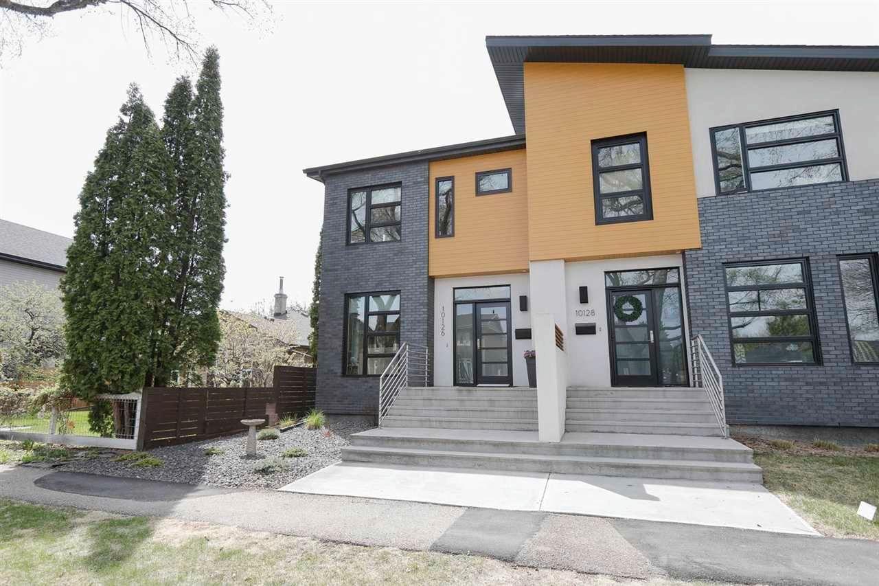 Main Photo: 10126 89 Street NW in Edmonton: Zone 13 House Half Duplex for sale : MLS®# E4245015