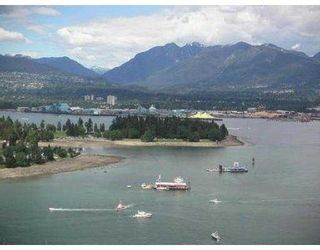 "Photo 2: 3205 1111 W PENDER ST in Vancouver: Coal Harbour Condo for sale in ""VANTAGE"" (Vancouver West)  : MLS®# V547687"