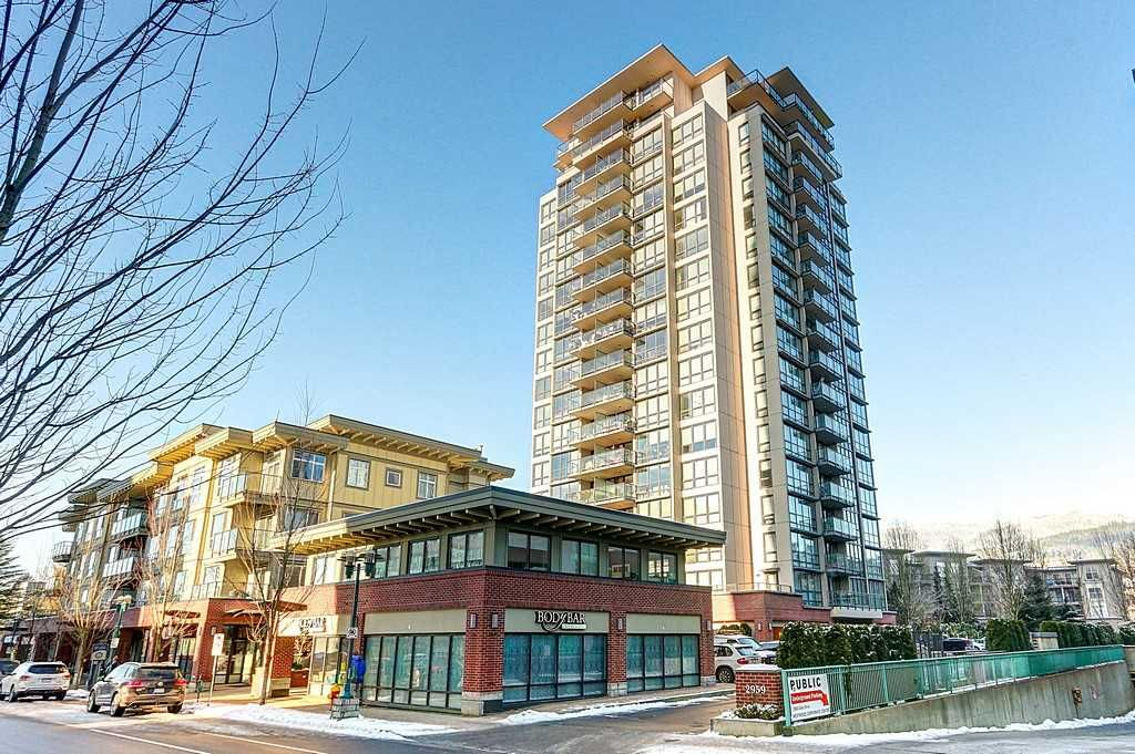 """Main Photo: 2001 2959 GLEN Drive in Coquitlam: North Coquitlam Condo for sale in """"PAC"""" : MLS®# R2126392"""
