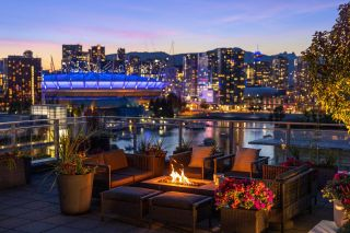 """Photo 1: 1201 1661 ONTARIO Street in Vancouver: False Creek Condo for sale in """"SAILS"""" (Vancouver West)  : MLS®# R2605622"""