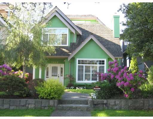 Main Photo: 3468 W 30TH Avenue in Vancouver: Dunbar House for sale (Vancouver West)  : MLS®# V769057