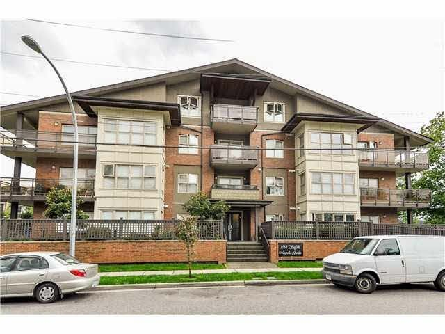"Main Photo: 103 1988 SUFFOLK Avenue in Port Coquitlam: Glenwood PQ Condo for sale in ""MAGNOLIA GARDEN"" : MLS®# R2060212"