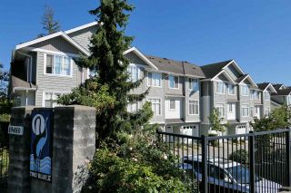 "Photo 1: 66 19480 66 Avenue in Surrey: Clayton Townhouse for sale in ""Two Blue II"" (Cloverdale)  : MLS®# R2497033"