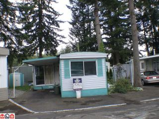 """Photo 1: 5 24330 FRASER Highway in Langley: Otter District Manufactured Home for sale in """"LANGLEY GROVE ESTATES"""" : MLS®# F1015305"""