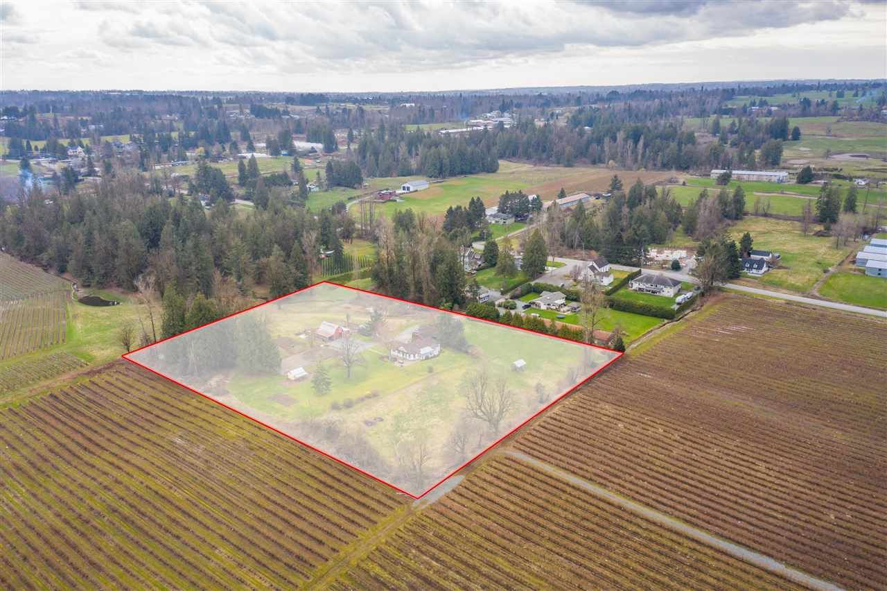 Main Photo: 6248 MT.LEHMAN Road in Abbotsford: Bradner House for sale : MLS®# R2558421