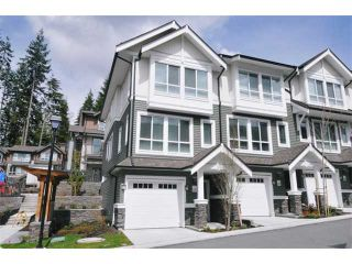 "Photo 1: 114 1460 SOUTHVIEW Street in Coquitlam: Burke Mountain Townhouse for sale in ""CEDAR CREEK"" : MLS®# V940552"