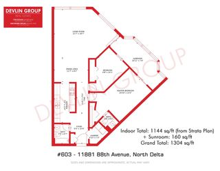 """Photo 33: 603 11881 88 Avenue in Delta: Annieville Condo for sale in """"Kennedy Heights Tower"""" (N. Delta)  : MLS®# R2602778"""