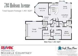 Photo 10: 793 HOBSON Avenue in COURTENAY: CV Courtenay East House for sale (Comox Valley)  : MLS®# 708991