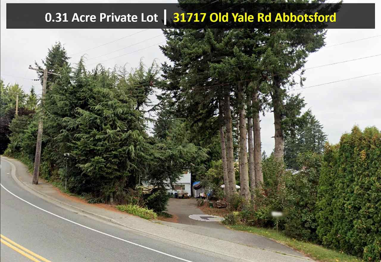 Main Photo: 31717 OLD YALE Road in Abbotsford: Abbotsford West House for sale : MLS®# R2534888