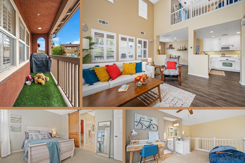 Main Photo: TORREY HIGHLANDS Townhouse for sale : 1 bedrooms : 7790 Via Belfiore #1 in San Diego