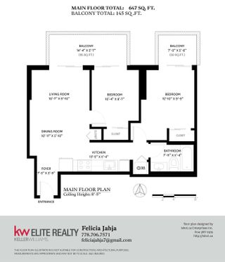 """Photo 14: 2506 13655 FRASER Highway in Surrey: Whalley Condo for sale in """"King George Hub"""" (North Surrey)  : MLS®# R2615800"""