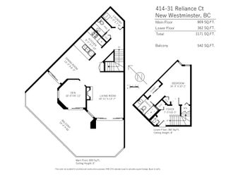 """Photo 33: 414 31 RELIANCE Court in New Westminster: Quay Condo for sale in """"Quaywest"""" : MLS®# R2625847"""