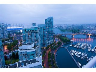 """Photo 20: # 3002 1199 MARINASIDE CR in Vancouver: Yaletown Condo for sale in """"Aquarius Mews"""" (Vancouver West)  : MLS®# V1029094"""