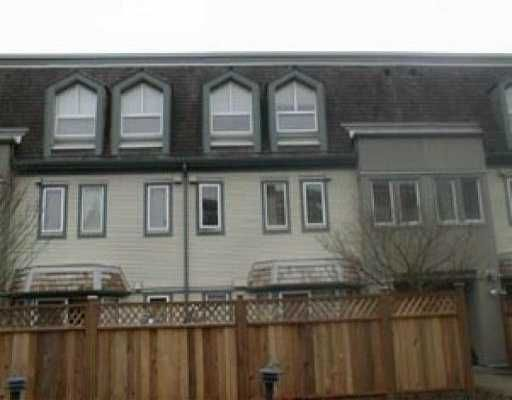 """Main Photo: 46 1225 BRUNETTE AV in Coquitlam: Maillardville Townhouse for sale in """"PLACE FONTAINEBLEAU"""" : MLS®# V530680"""