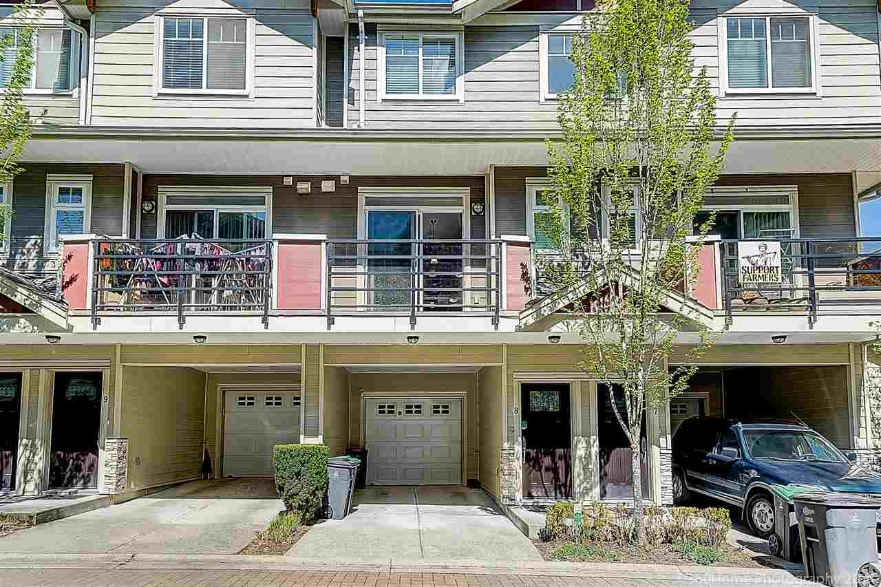 """Main Photo: 8 6383 140 Street in Surrey: Sullivan Station Townhouse for sale in """"Panorama West Village"""" : MLS®# R2570646"""