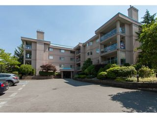 "Photo 1: 109 33110 GEORGE FERGUSON Way in Abbotsford: Central Abbotsford Condo for sale in ""Tiffany Park"" : MLS®# R2189830"