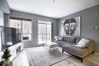 Photo 2: 413 10033 110 Street in Edmonton: Zone 12 Condo for sale : MLS®# E4223211
