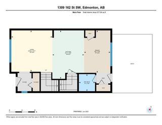 Photo 41: 1309 162 Street in Edmonton: Zone 56 House Half Duplex for sale : MLS®# E4260011