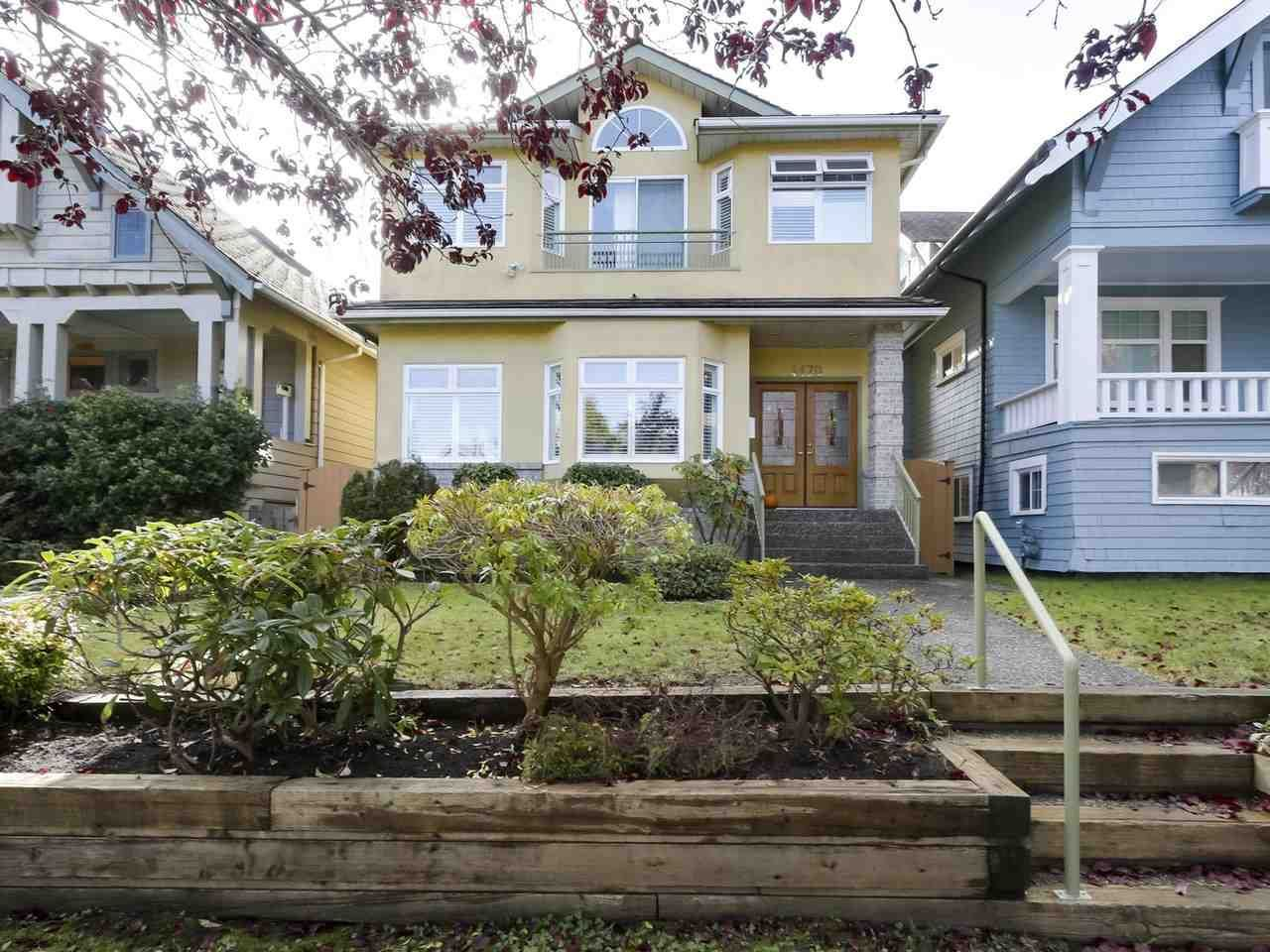 Main Photo: 4470 W 12TH Avenue in Vancouver: Point Grey House for sale (Vancouver West)  : MLS®# R2415684