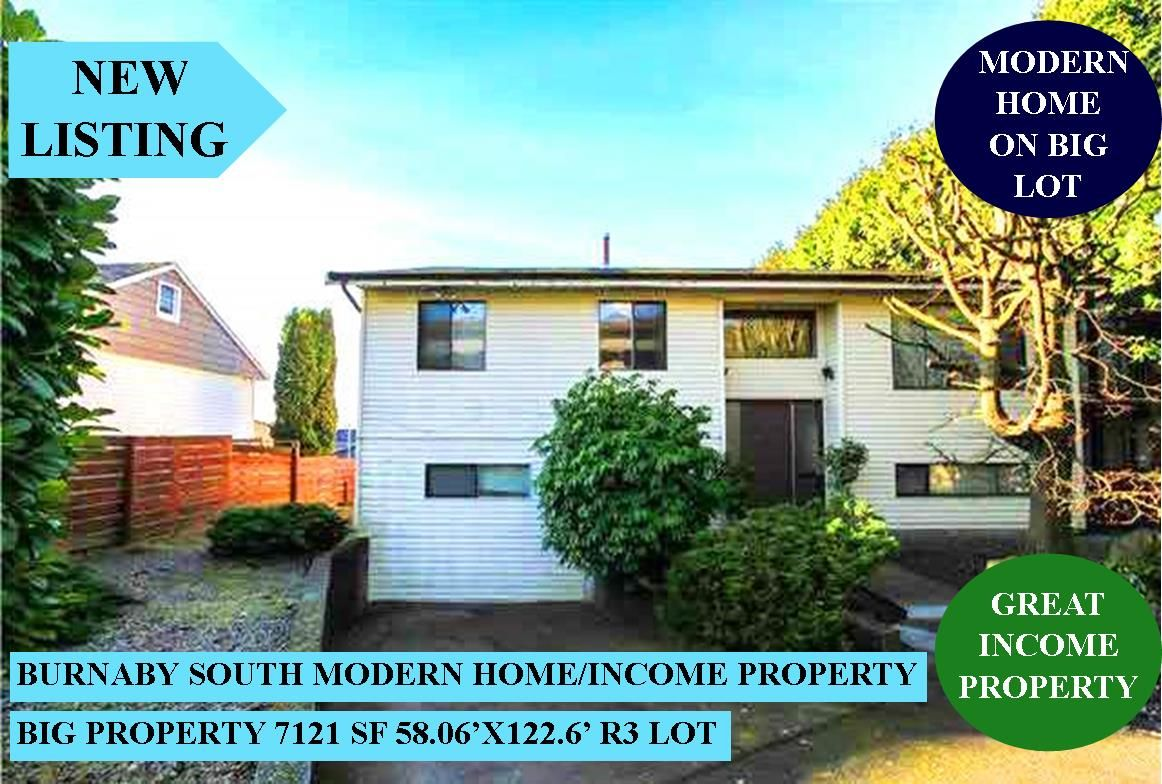 Main Photo: 6362 RUMBLE Street in Burnaby: South Slope House for sale (Burnaby South)  : MLS®# R2571165