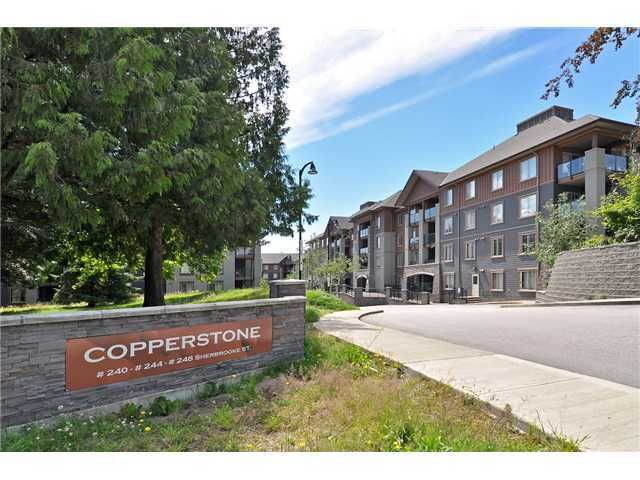 "Main Photo: 2403 244 SHERBROOKE Street in New Westminster: Sapperton Condo for sale in ""COPPERSTONE"" : MLS®# V927104"
