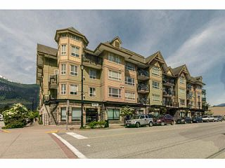 """Photo 1: 110 38003 SECOND Avenue in Squamish: Downtown SQ Condo for sale in """"SQUAMISH POINTE"""" : MLS®# V1121257"""