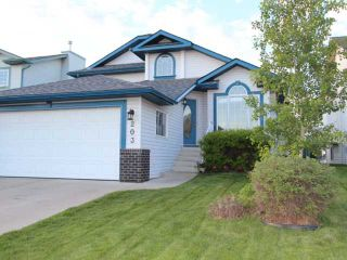 Photo 1: 203 WOODSIDE Crescent NW: Airdrie Residential Detached Single Family for sale : MLS®# C3527505