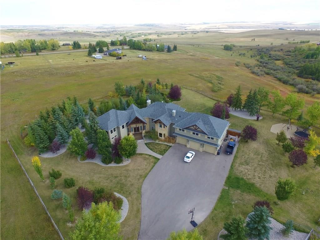 Main Photo: 262100 POPLAR HILL Drive in Rural Rocky View County: Rural Rocky View MD Detached for sale : MLS®# A1070956