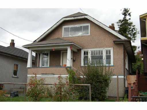 Main Photo: 1317-1319 NANAIMO STREET in : West End NW House for sale : MLS®# V792803