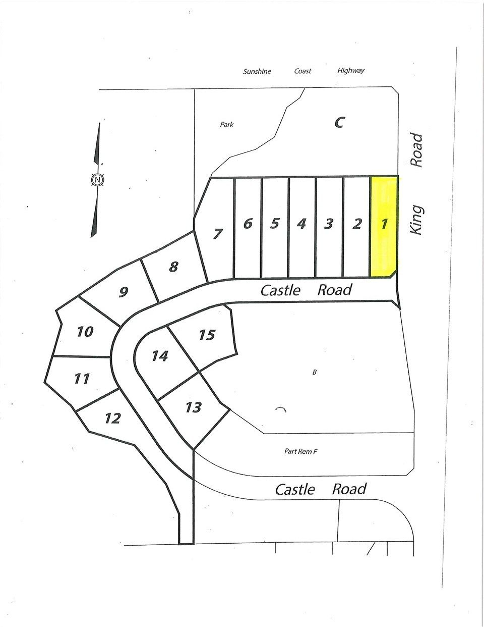 "Main Photo: LOT 1 CASTLE Road in Gibsons: Gibsons & Area Land for sale in ""KING & CASTLE"" (Sunshine Coast)  : MLS®# R2422339"