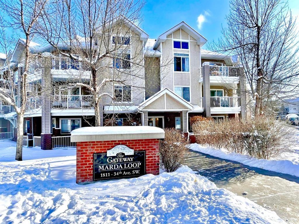 Main Photo: 315 1811 34 Avenue SW in Calgary: Altadore Apartment for sale : MLS®# A1070784