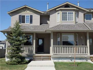 Photo 1: 605 2001 LUXSTONE Boulevard SW: Airdrie Townhouse for sale : MLS®# C3614893