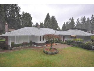 Main Photo: 4294 FONTEYN Way in North Vancouver: Canyon Heights NV House for sale : MLS®# V867977
