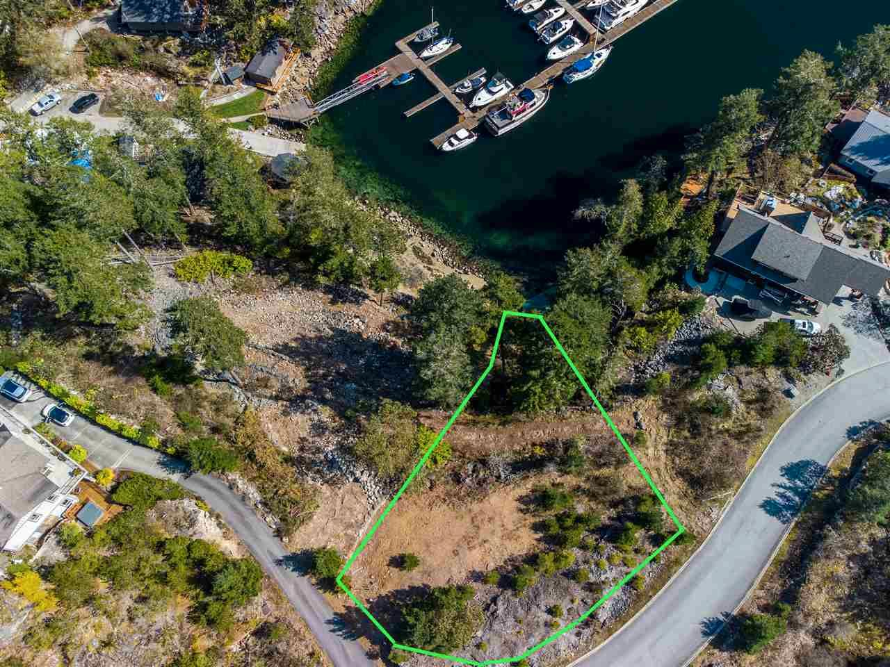 "Main Photo: LOT 16 4622 SINCLAIR BAY Road in Garden Bay: Pender Harbour Egmont Land for sale in ""FARRINGTON COVE"" (Sunshine Coast)  : MLS®# R2561781"