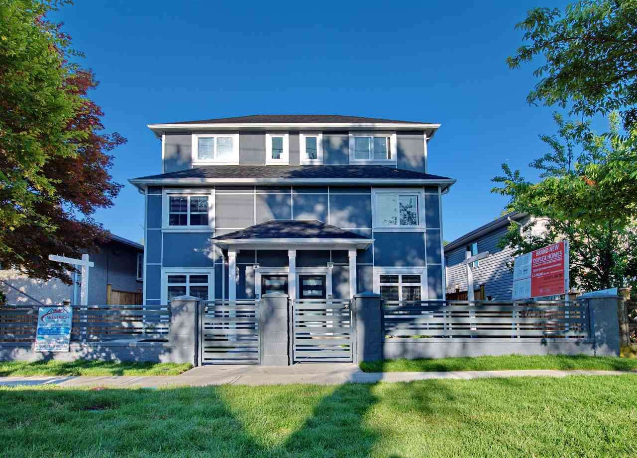 Main Photo: 5218 GLADSTONE Street in Vancouver: Victoria VE 1/2 Duplex for sale (Vancouver East)  : MLS®# R2322175
