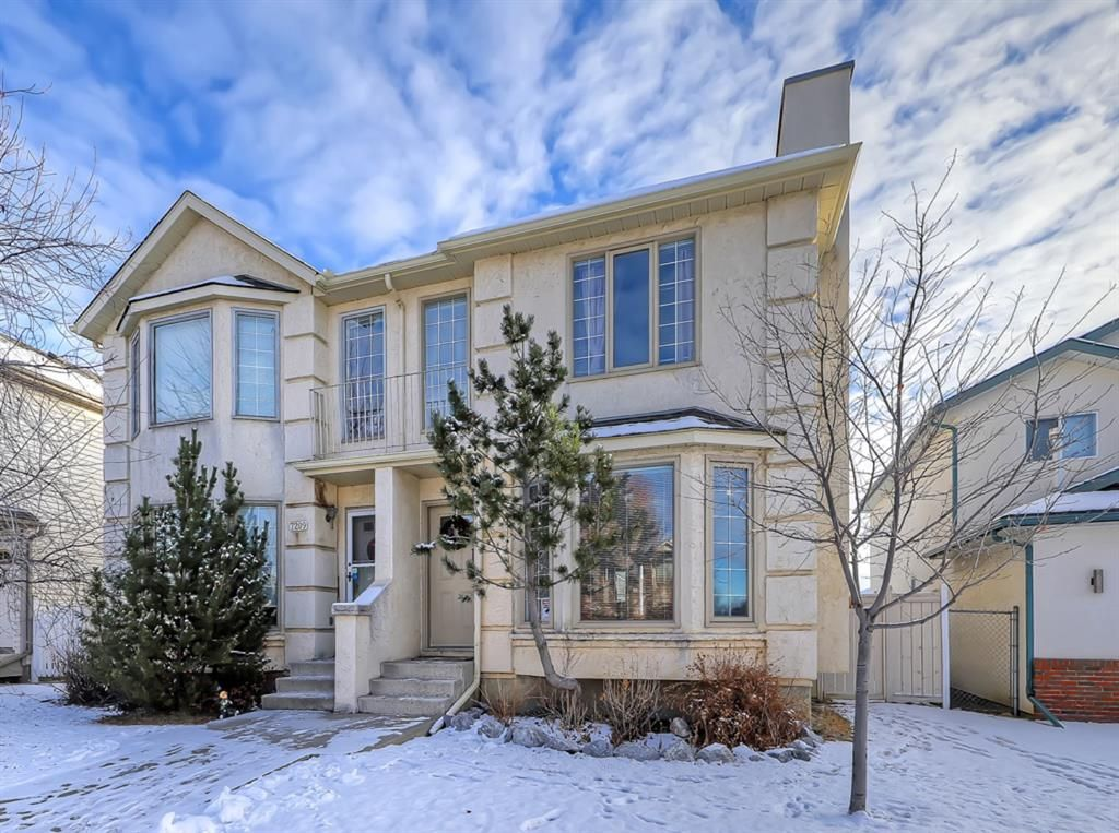 Main Photo: 7205 Sierra Morena Boulevard SW in Calgary: Signal Hill Semi Detached for sale : MLS®# A1055568