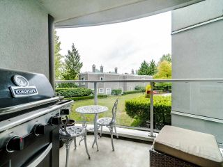 """Photo 3: 210 8450 JELLICOE Street in Vancouver: South Marine Condo for sale in """"THE BOARDWALK"""" (Vancouver East)  : MLS®# R2406380"""