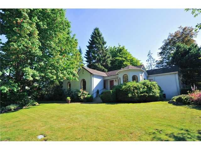 """Main Photo: 418 FIRST Street in New Westminster: Queens Park House for sale in """"QUEENS PARK"""" : MLS®# V1075029"""