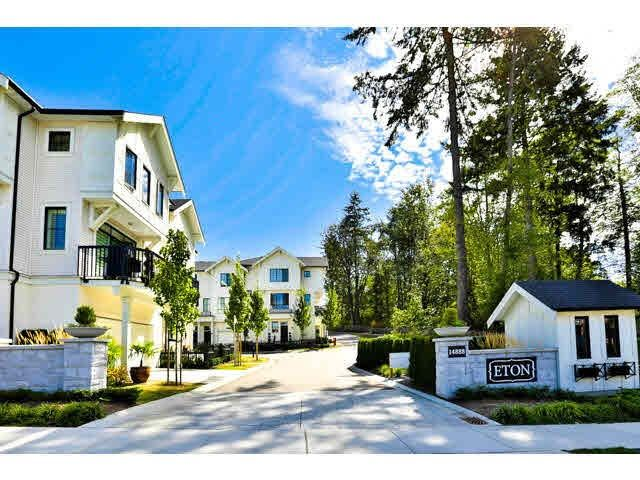 Main Photo: #11 14888 62 ave in Surrey: Sullivan Station Townhouse for sale : MLS®# F1444009