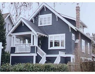 Photo 1: 2076 W 42ND Avenue in Vancouver: Kerrisdale House for sale (Vancouver West)  : MLS®# V677171