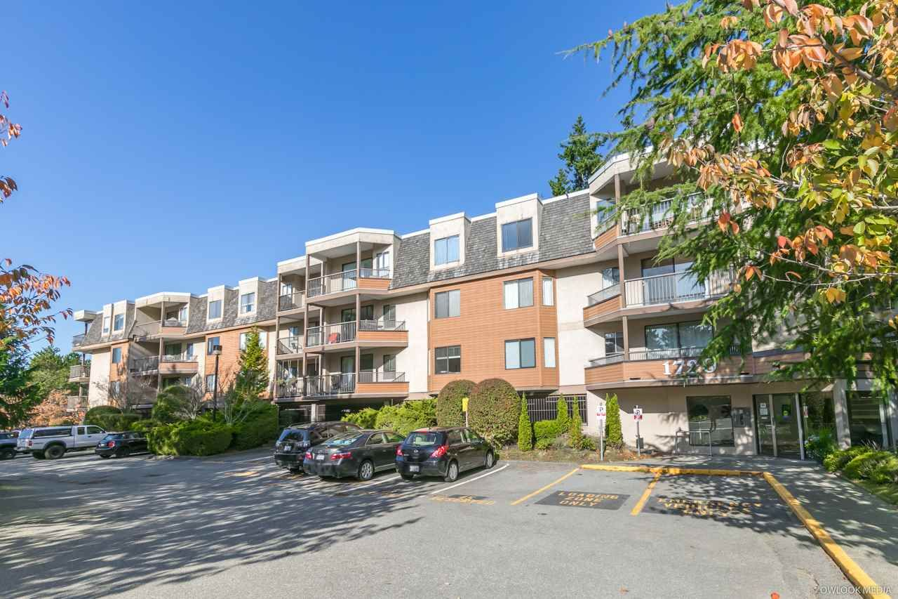 "Main Photo: 215 1720 SOUTHMERE Crescent in Surrey: Sunnyside Park Surrey Condo for sale in ""Capstan Way"" (South Surrey White Rock)  : MLS®# R2415957"