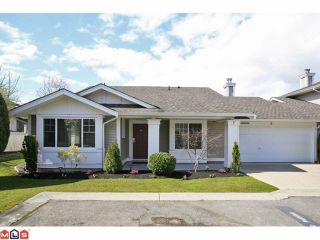 Photo 1: 6 6885 184TH Street in Surrey: Cloverdale BC Townhouse for sale (Cloverdale)  : MLS®# F1208414