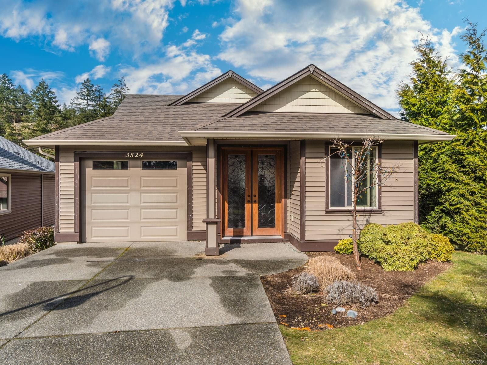 Main Photo: 3524 Radha Way in : Na Departure Bay House for sale (Nanaimo)  : MLS®# 870004