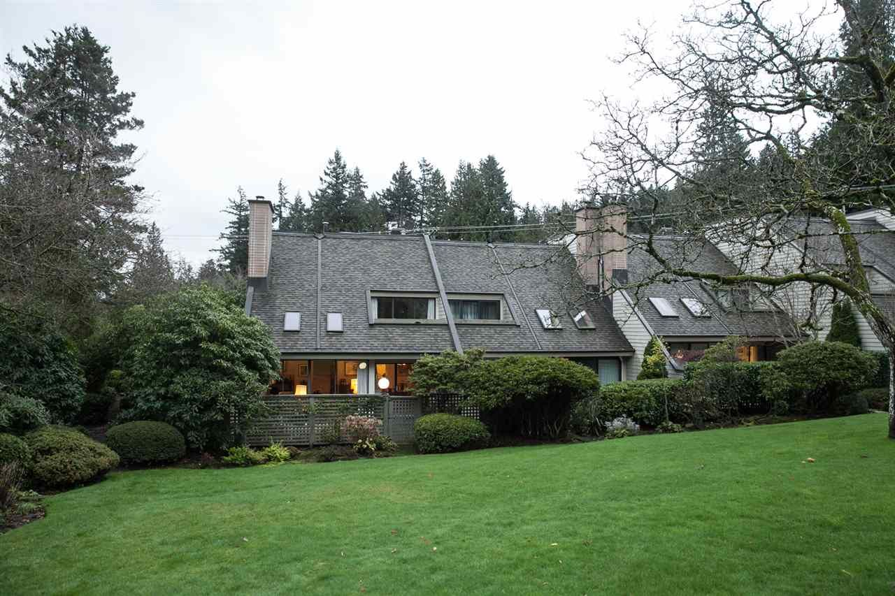 Main Photo: 11 4957 MARINE Drive in West Vancouver: Olde Caulfeild Townhouse for sale : MLS®# R2124115