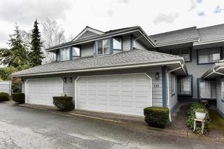 "Photo 1: 122 28 RICHMOND Street in New Westminster: Fraserview NW Townhouse for sale in ""CASTLERIDGE"" : MLS®# R2157628"