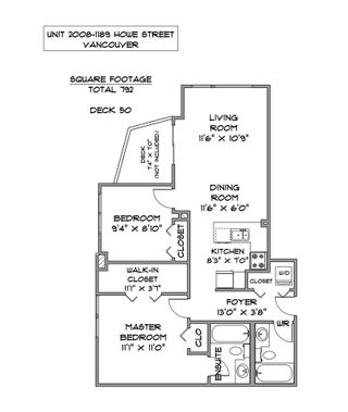 """Photo 23: 2008 1189 HOWE Street in Vancouver: Downtown VW Condo for sale in """"GENESIS"""" (Vancouver West)  : MLS®# R2459398"""