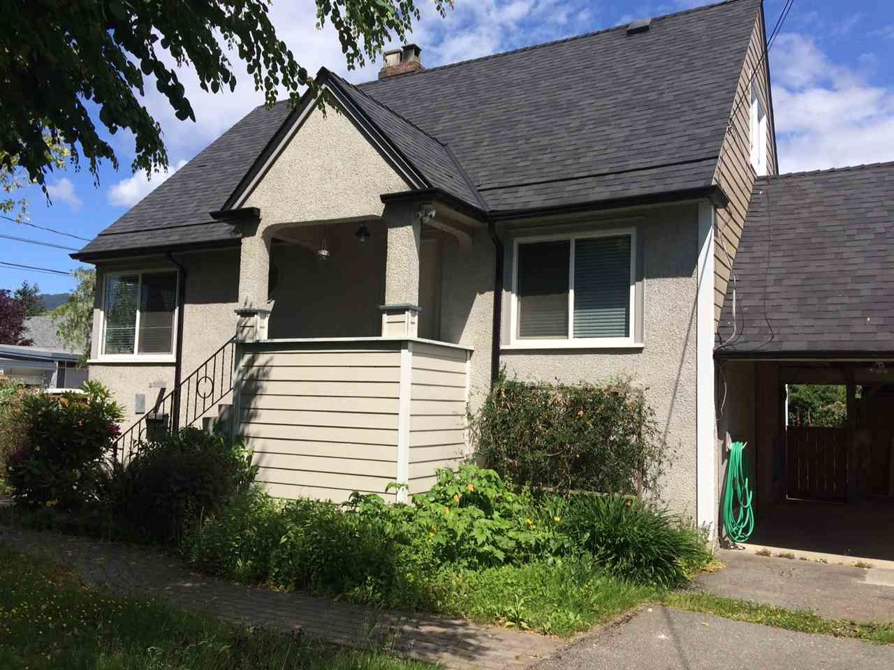 Main Photo: 1295 DUCHESS Avenue in West Vancouver: Ambleside House for sale : MLS®# R2278360