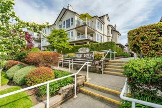 """Photo 1: 207 17740 58A Avenue in Surrey: Cloverdale BC Condo for sale in """"Derby Downs"""" (Cloverdale)  : MLS®# R2579014"""