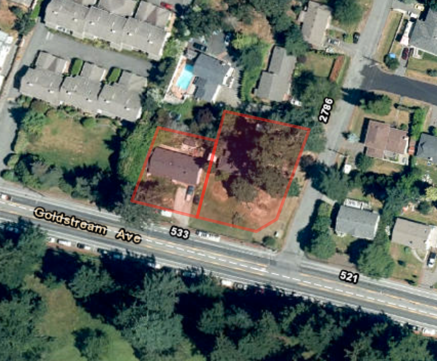 Main Photo: 528-532 Goldstream Avenue in Langford: Land Commercial