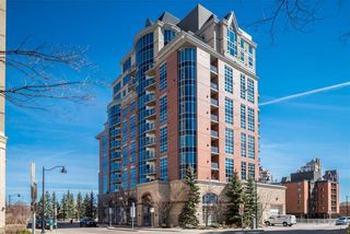 Main Photo: 201 110 7 Street SW in Calgary: Eau Claire Apartment for sale : MLS®# A1079105